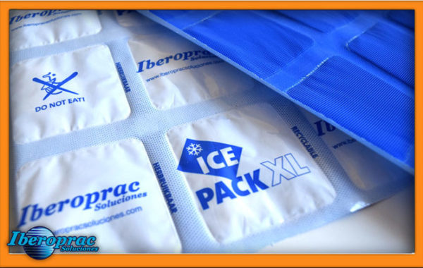 Icepack, hydratable cold accumulator