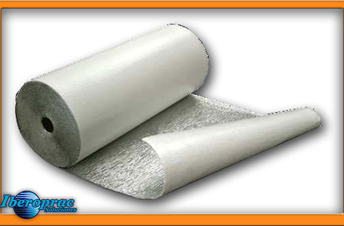 Insulating material coil