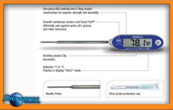 Termómetro sonda de aguja