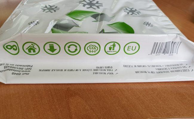 Bolsa isoterm asas reciclable 2