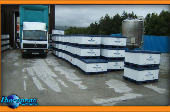 S-Bins Coolseal containers