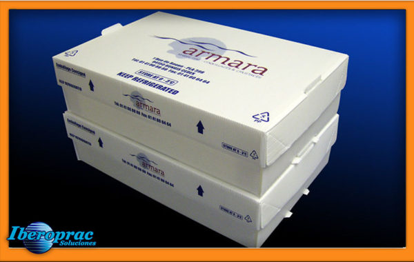 Cajas Coolseal Stacker